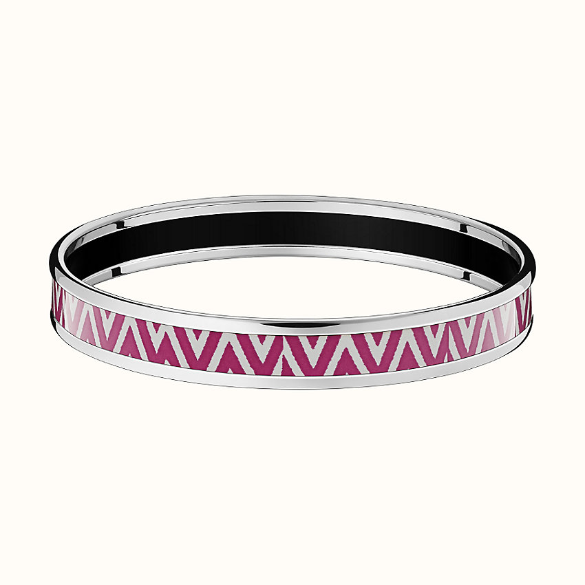 zoom image, Manufacture de Boucleries Chevrons bangle