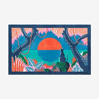 Meditation Beach Towel Front