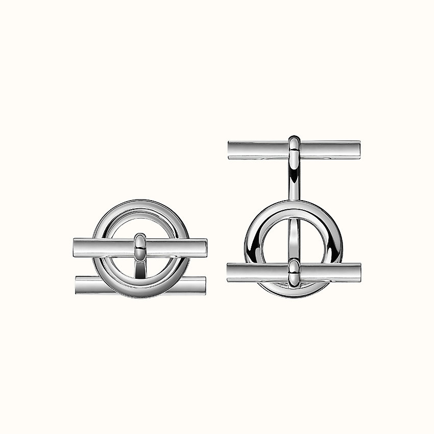 zoom image, Mini Chaine d'Ancre cufflinks