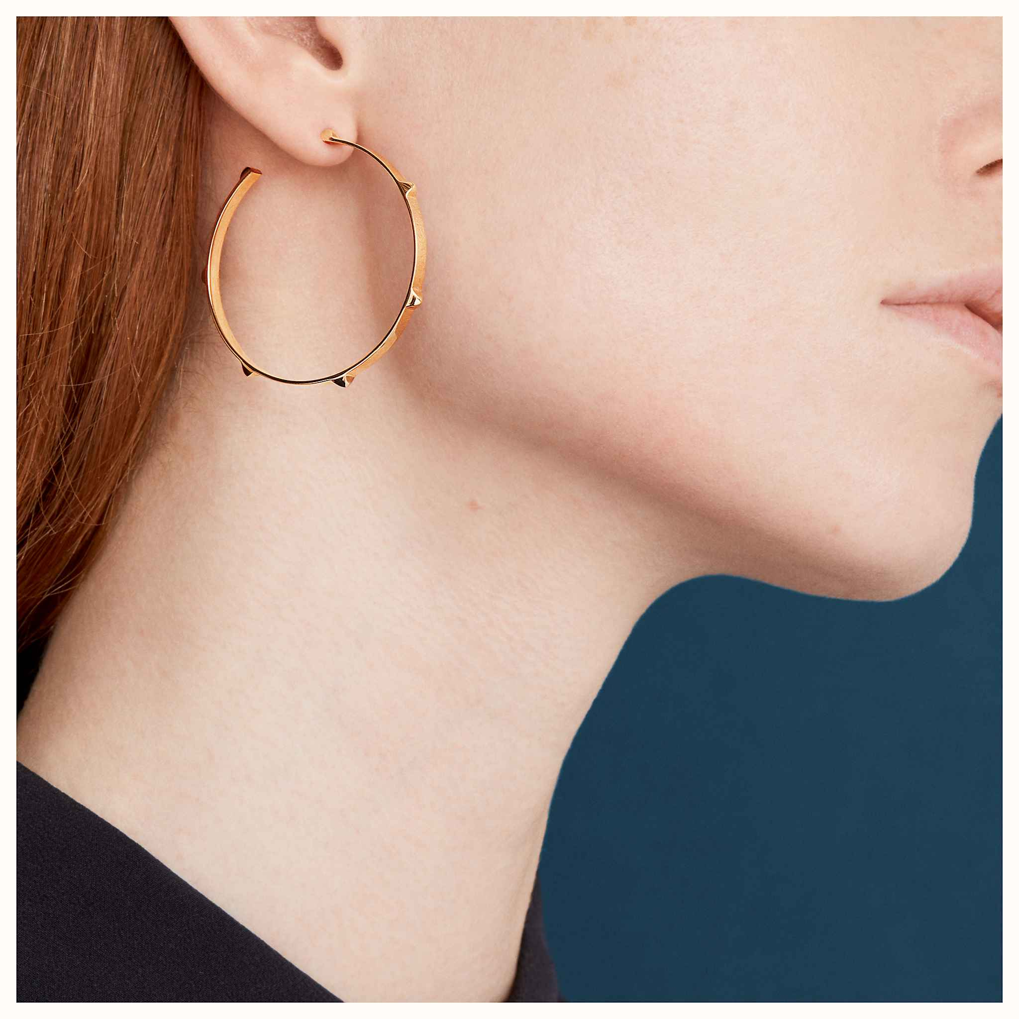 a439054a5 Hermes Silver Hoop Earrings - Best All Earring Photos Kamilmaciol.Com