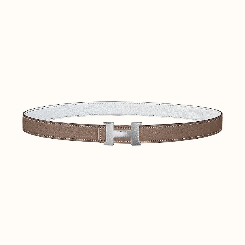 zoom image, Mini Constance Martelee belt buckle & Reversible leather strap 24mm