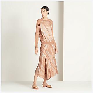 'Parure de Gala' skirt - worn