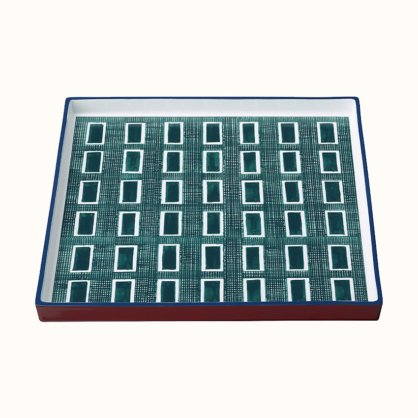 zoom image, Perimetre square tray, large model