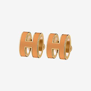 Pop H Earrings Front