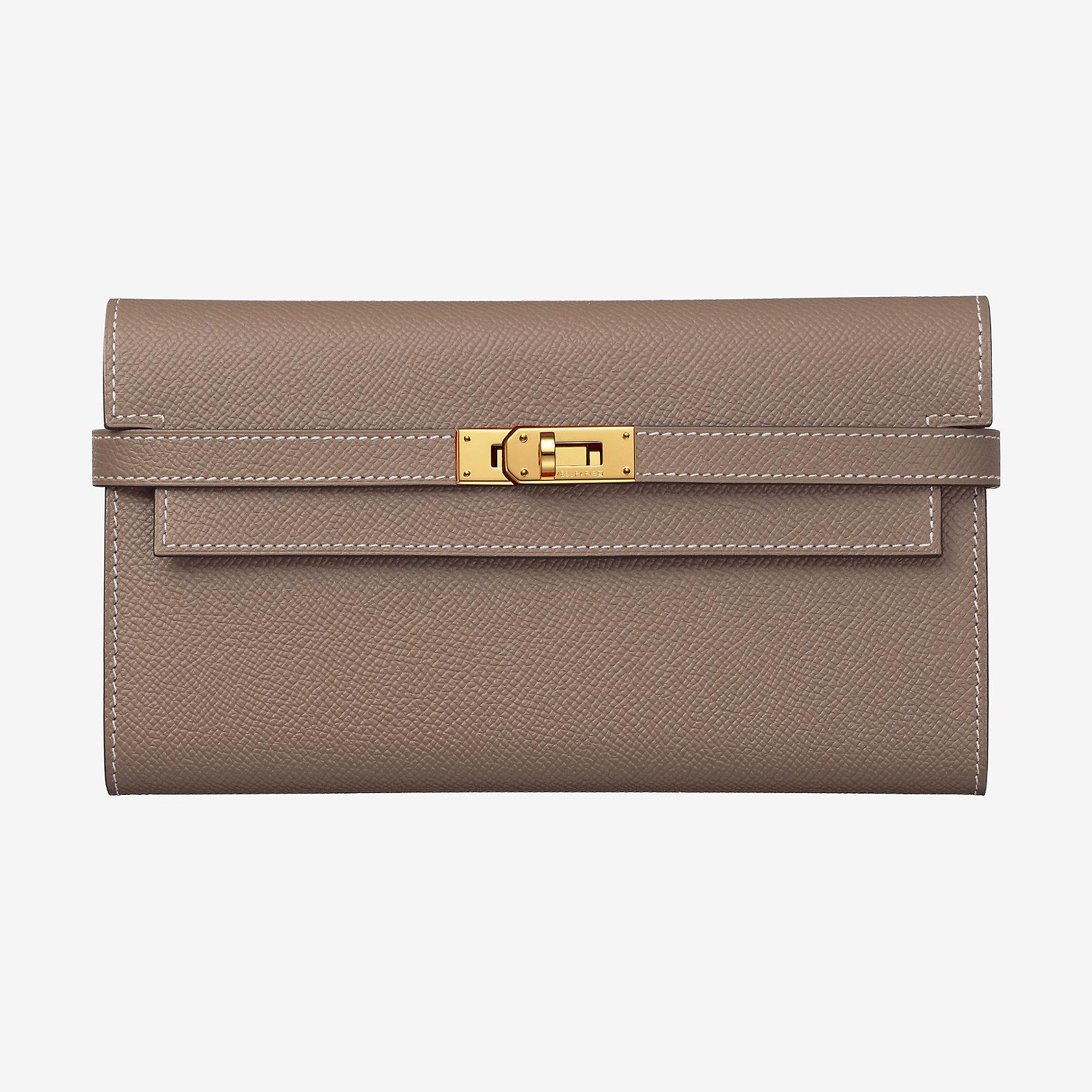 Portefeuille Kelly classique   Hermès 64649dbfd98