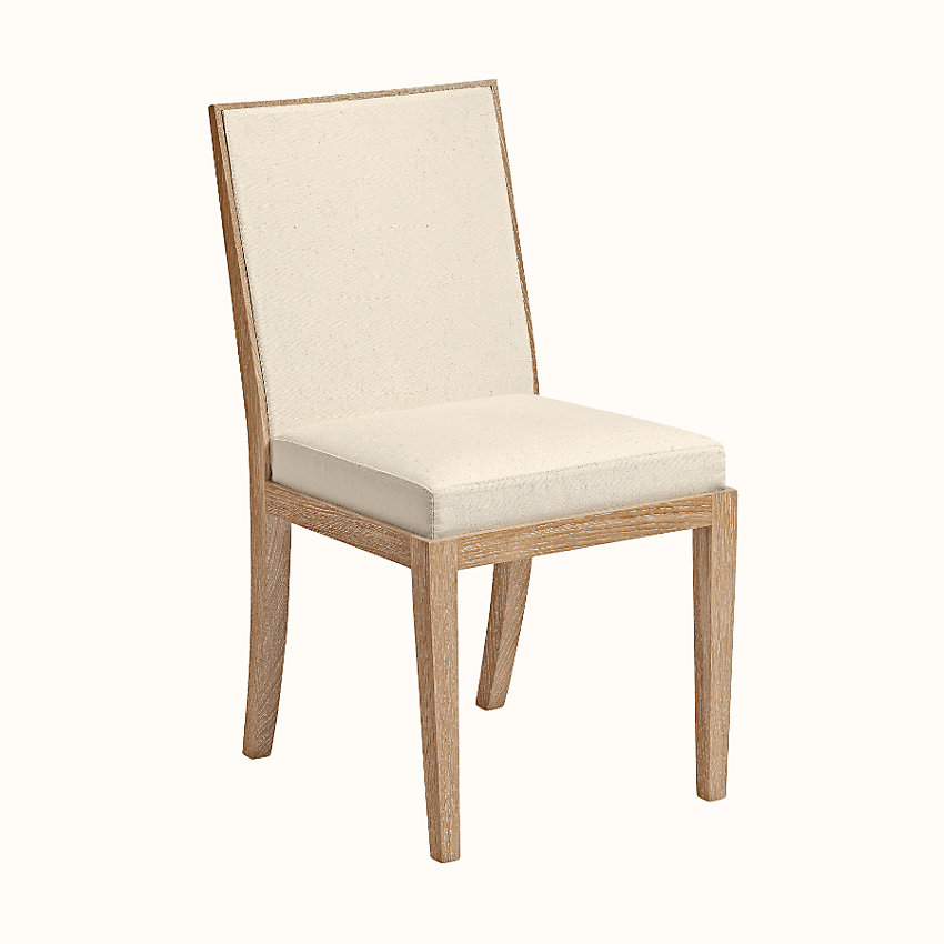 zoom image, Reeditions J.-M. Frank par Hermes padded chair