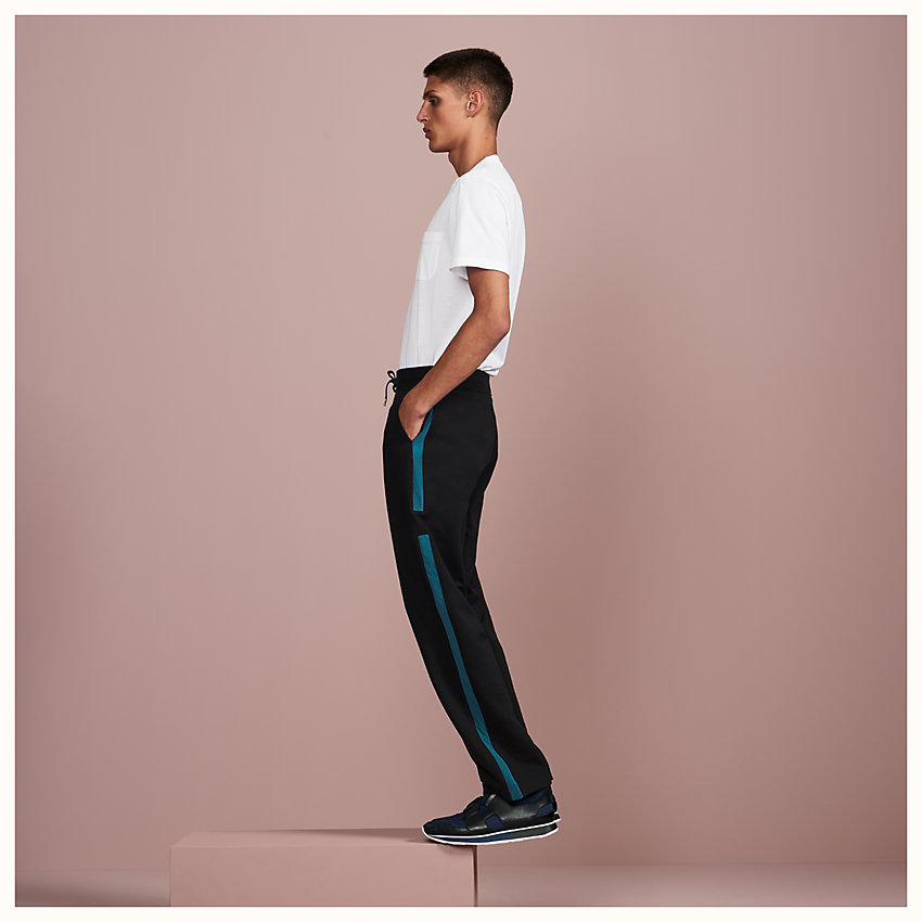 zoom image, Ribbed jogging pants