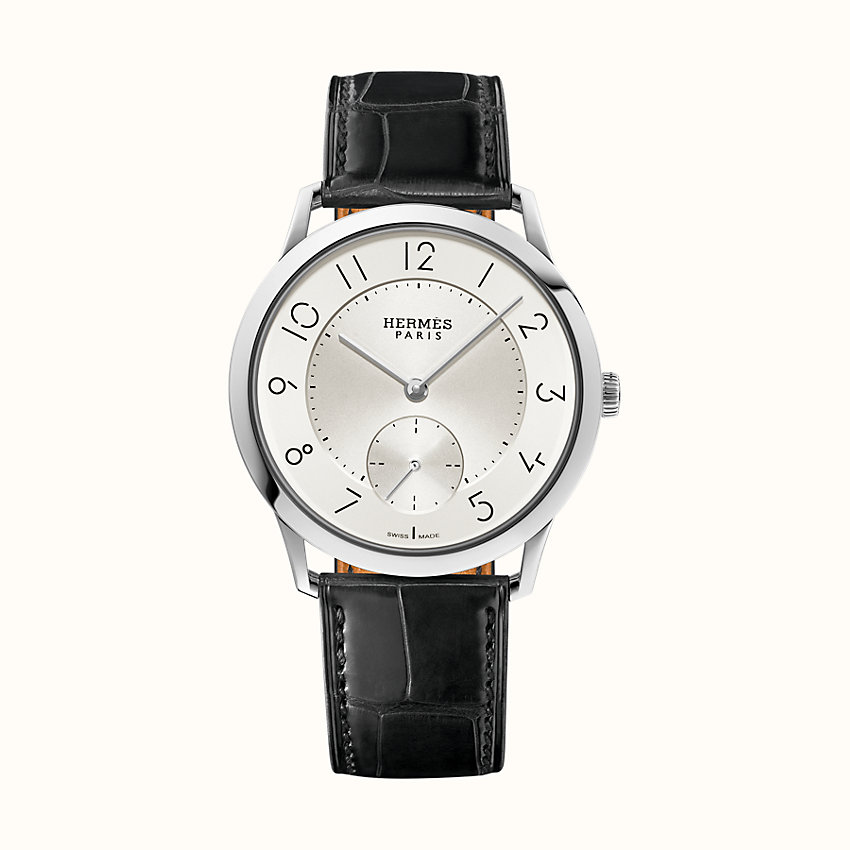 zoom image, Slim d'Hermes watch, 39.5 mm