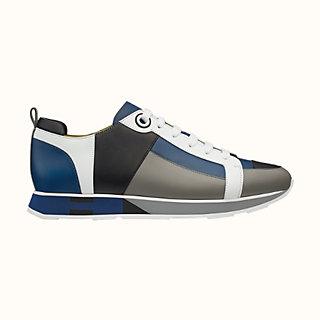 Hermès Blau Leder Hohe Turnschuhe Herren : Marke Winter