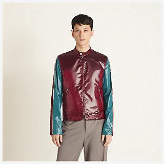 Straight cut jacket - worn