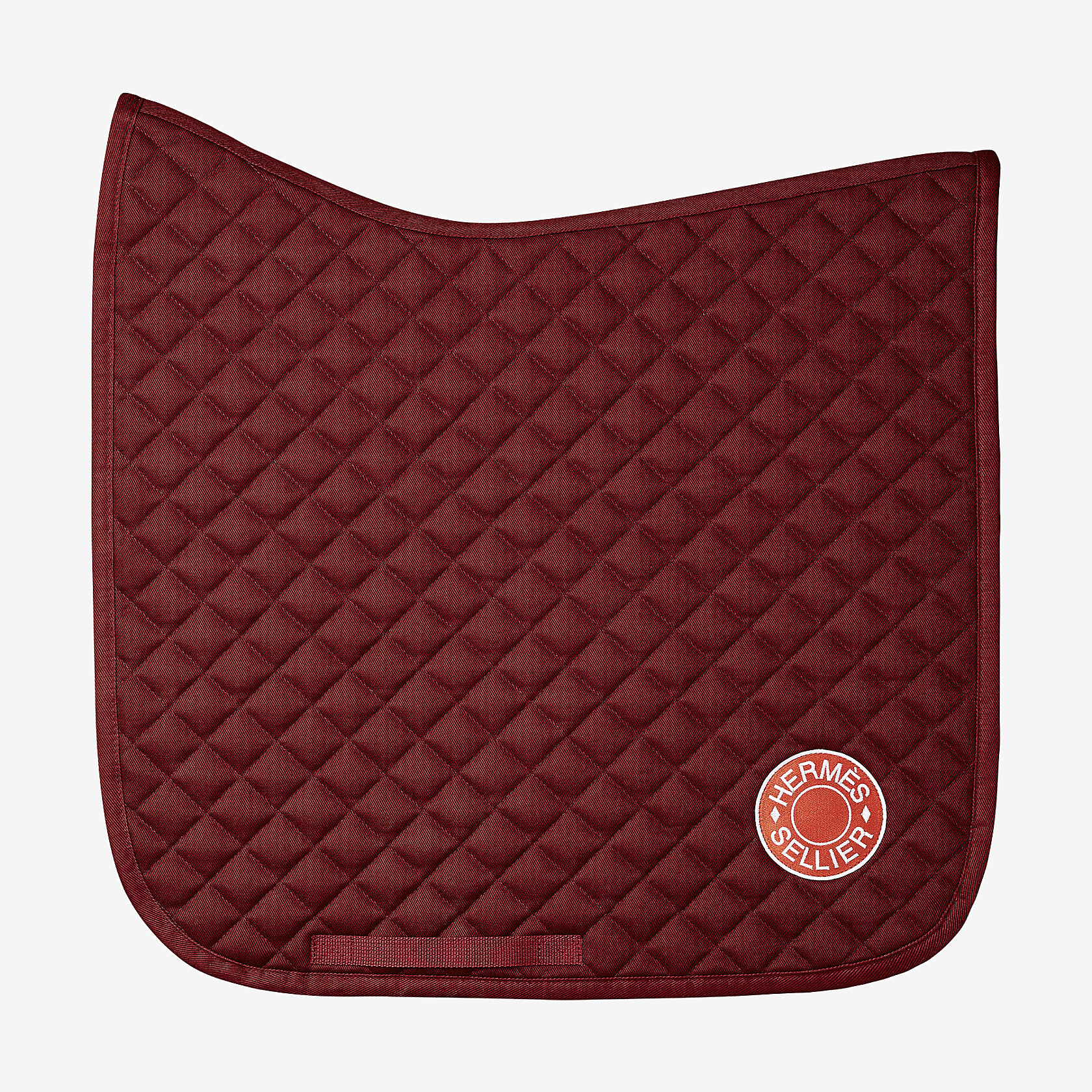 Swing dressage saddle pad hermès