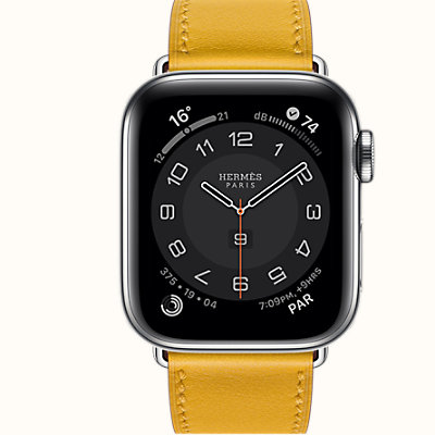 Series 6 case & Band Apple Watch Hermes Single Tour 40 mm
