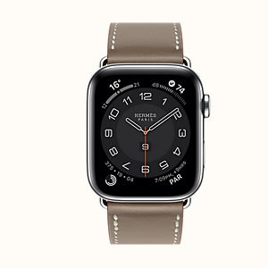 Series 6 case & Band Apple Watch Hermes Single Tour 44 mm