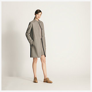 Three-button coat - worn