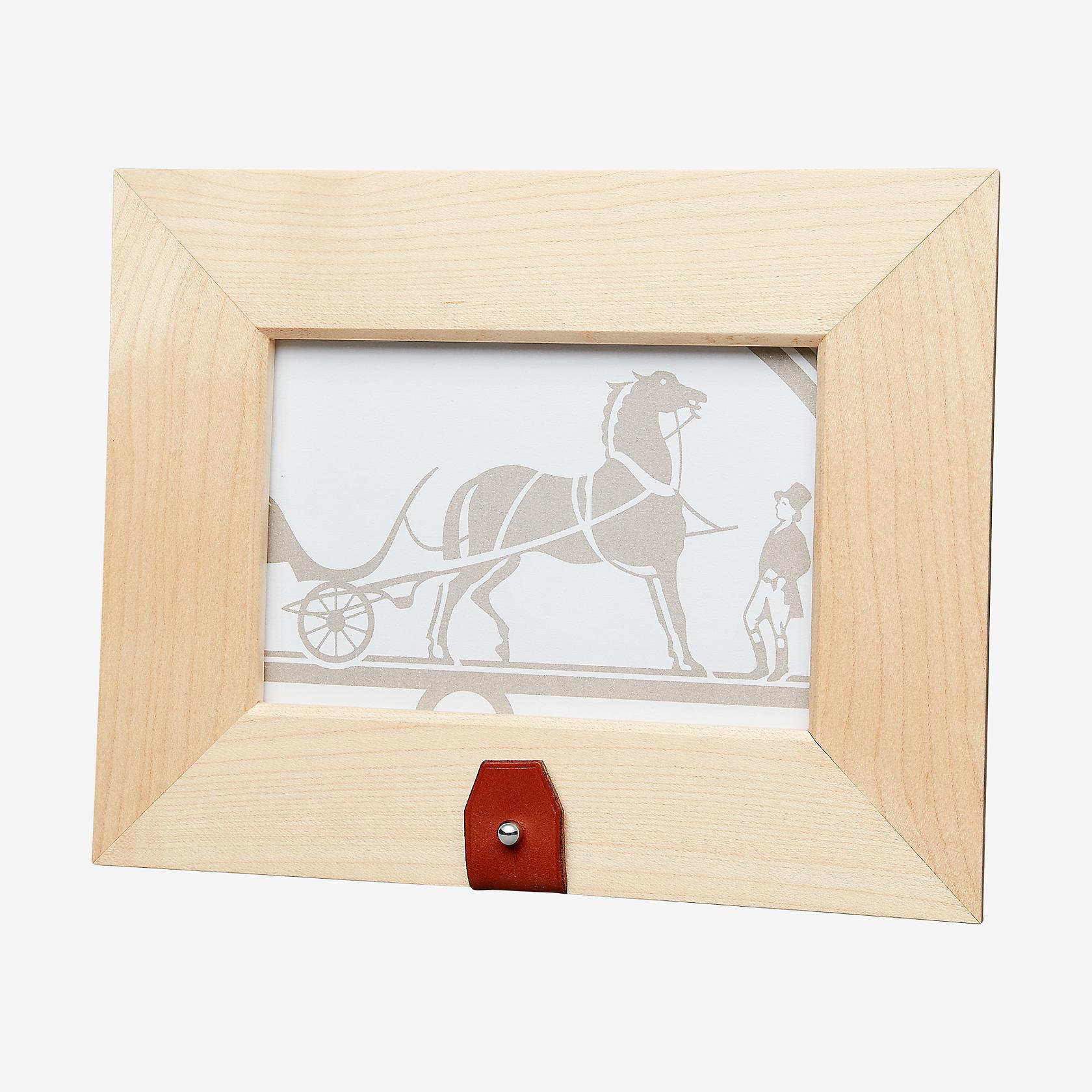 Tibi horizontal picture frame, small model | Hermès