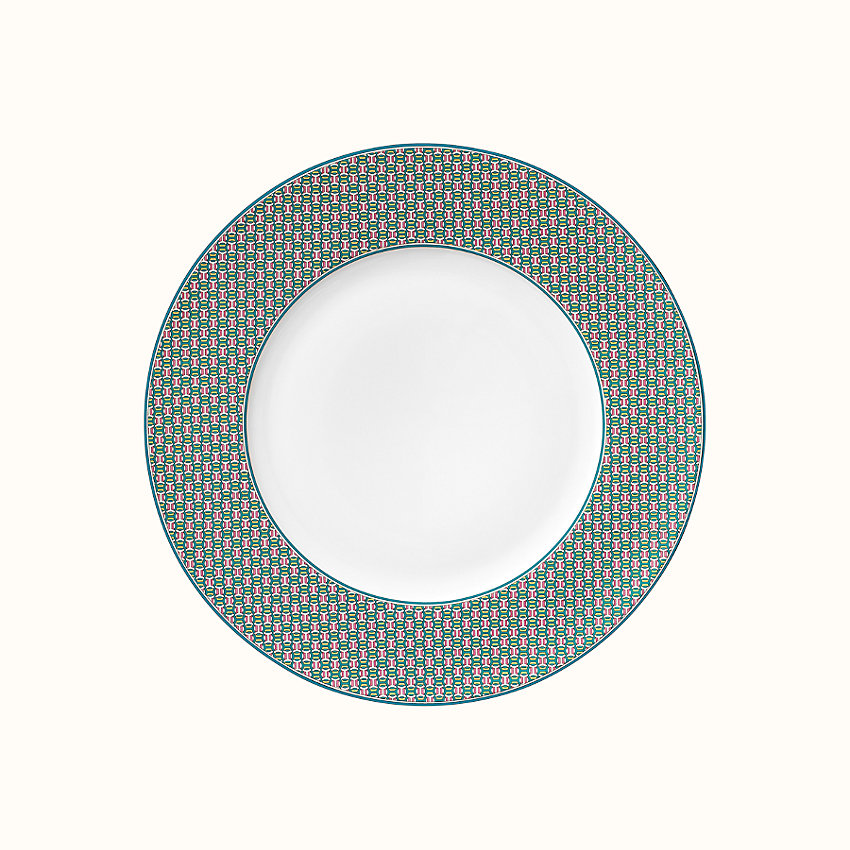 zoom image, Tie Set dinner plate