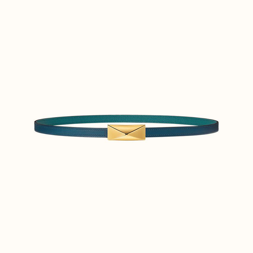 zoom image, Tres Medor belt buckle & Reversible leather strap 13mm