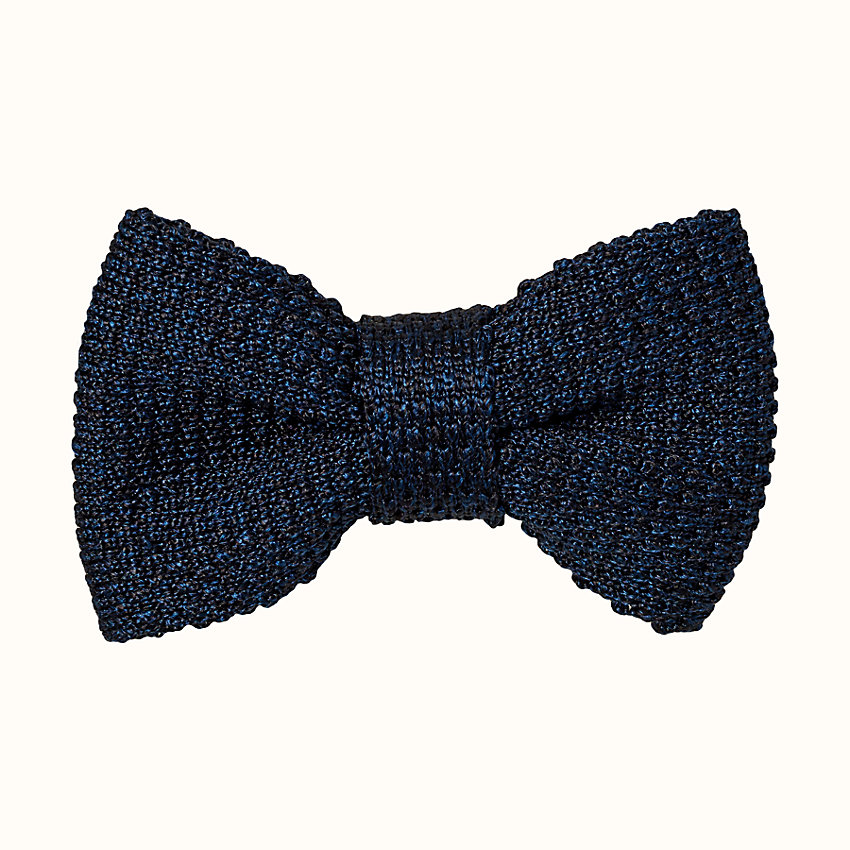 zoom image, Tricot de soie chinee bow tie
