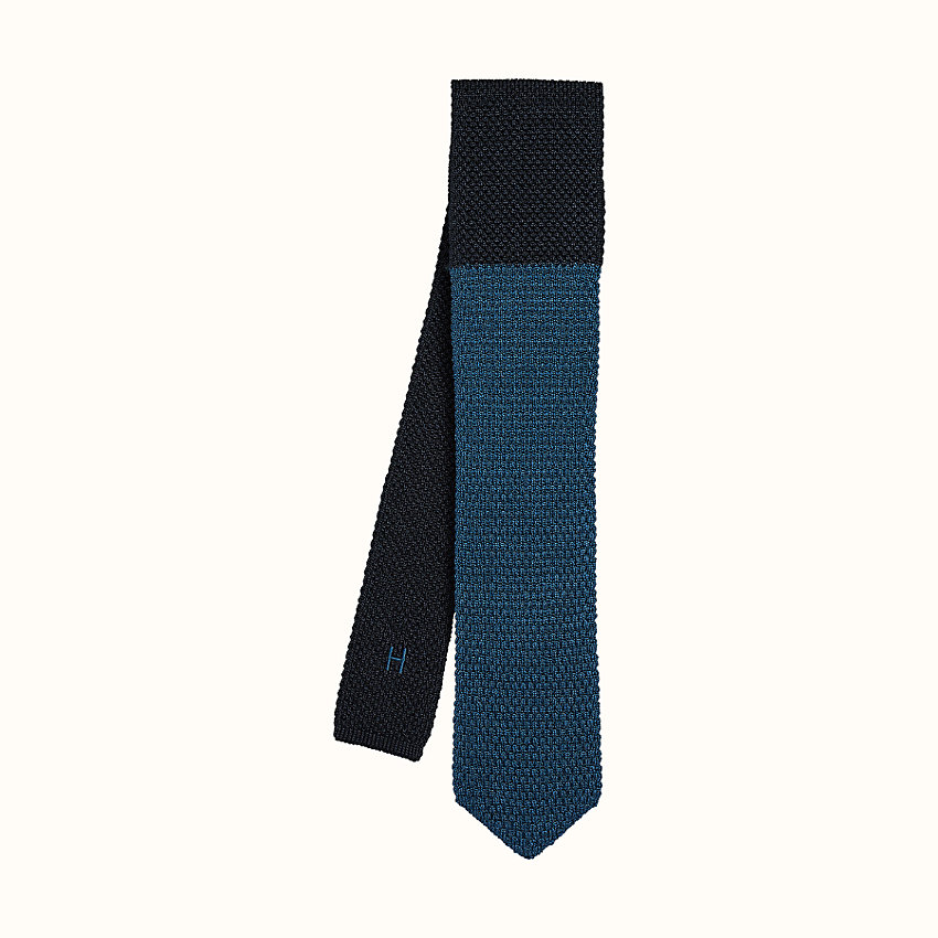 zoom image, Tricot de Soie double point tie