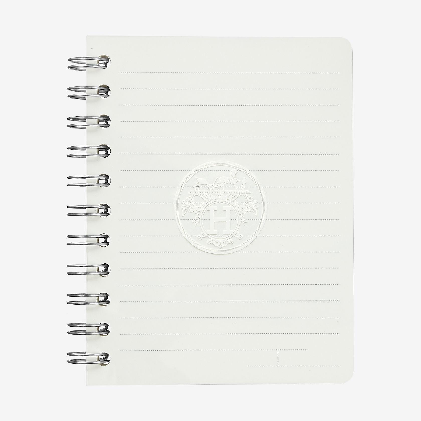 ulysse lined notebook refill small model hermès