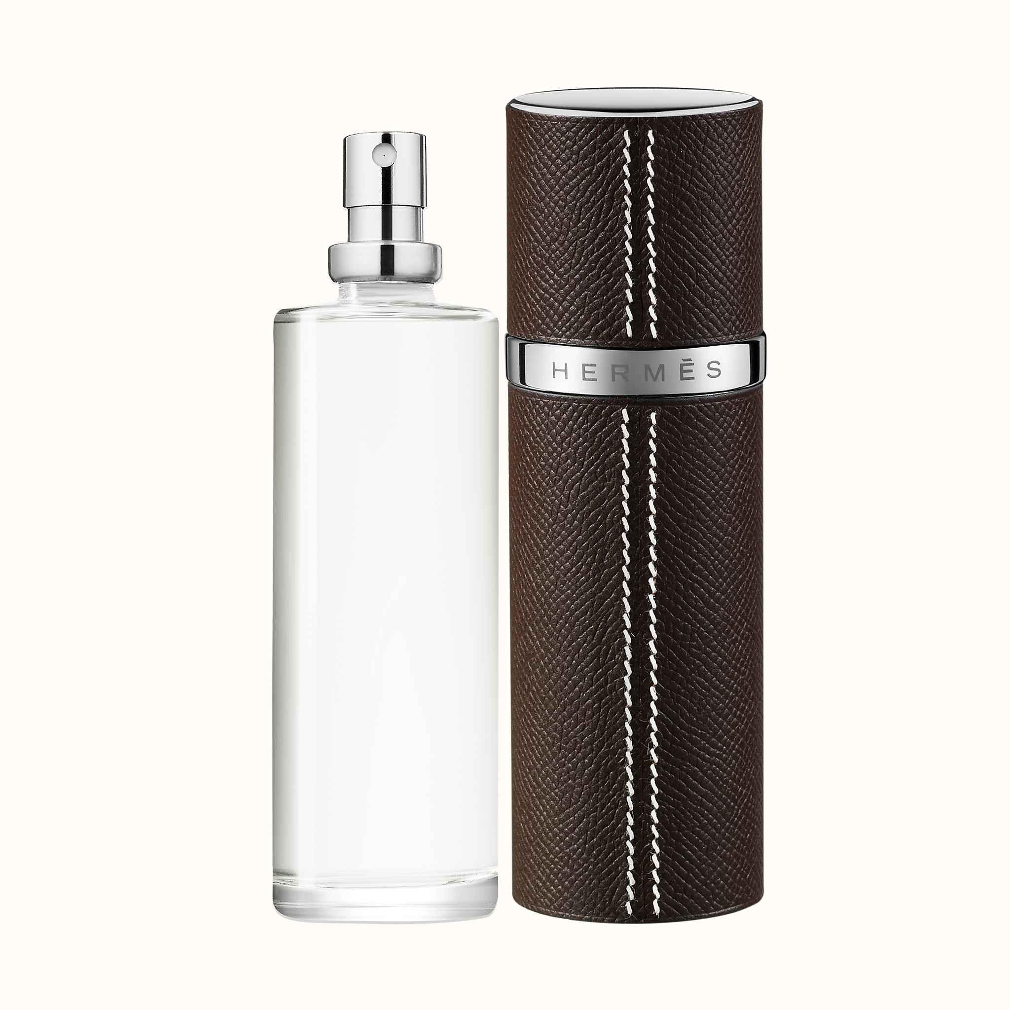 Parfum Leather Refillamp; Voyage Refillable D'hermes Case LVSzpUMqGj