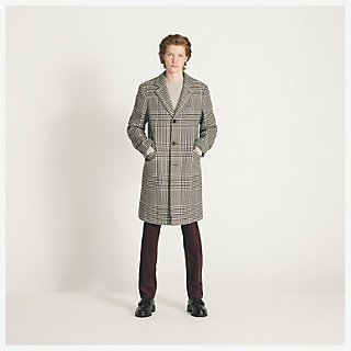 Woolen coat - worn